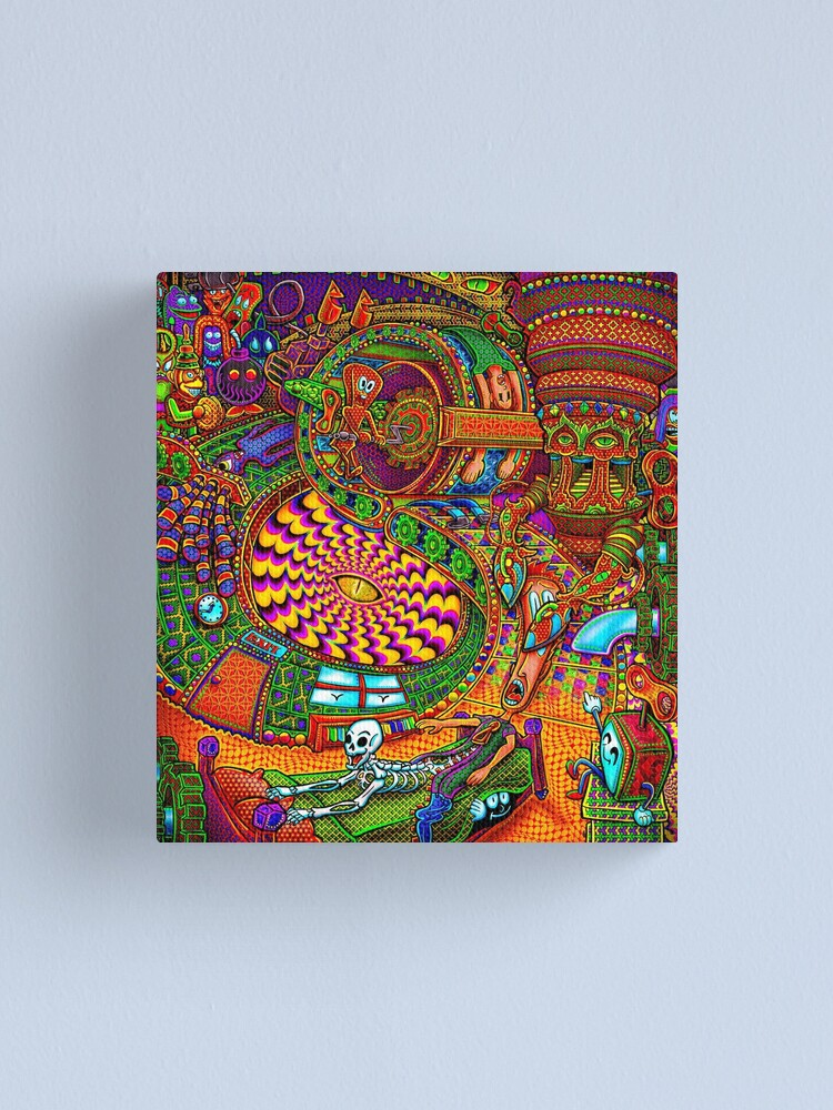 Alternate view of Carnival of the Abyss Canvas Print
