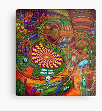 Carnival of the Abyss Metal Print