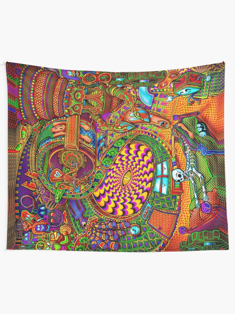 Alternate view of Carnival of the Abyss Tapestry