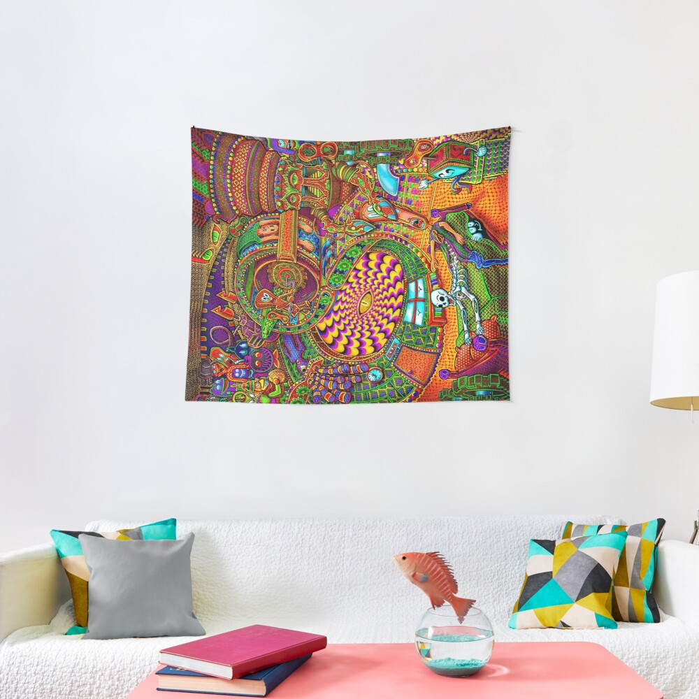 Carnival of the Abyss Tapestry