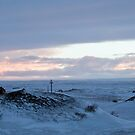 Sunset at Myvatn by Sue Robinson