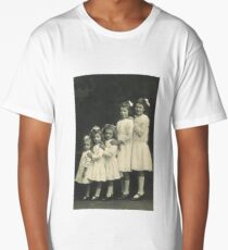 5 BEAUTIFUL GIRLS Long T-Shirt