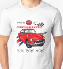 MGBGT Giant Scalextric Unisex T-Shirt