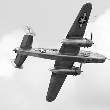 b25 ww2 bomber by Storm91