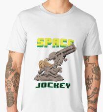 Space Jockey 8 bit Pixels Men's Premium T-Shirt