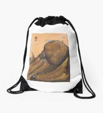 Escapism Drawstring Bag