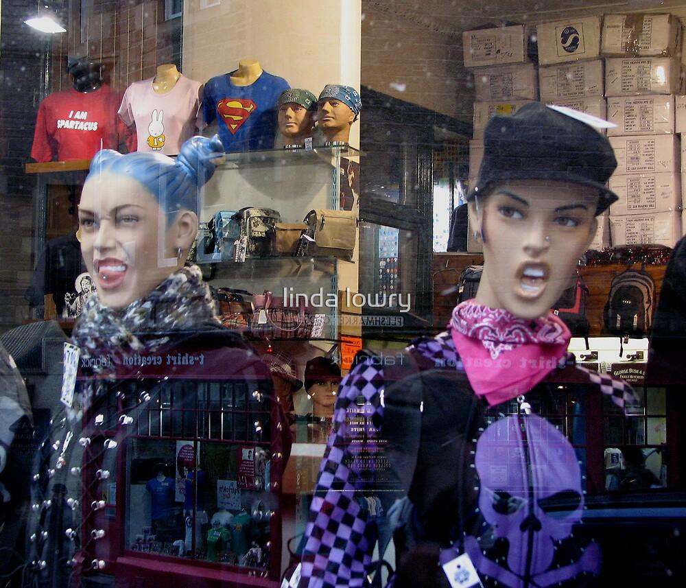 Window Dressing With Attitude by linda lowry