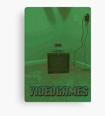 Late Night Videogames Canvas Print
