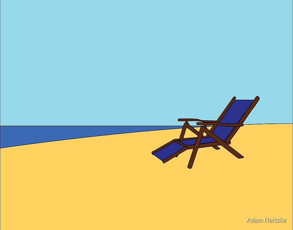 Beach Chair by Adam Neitzke