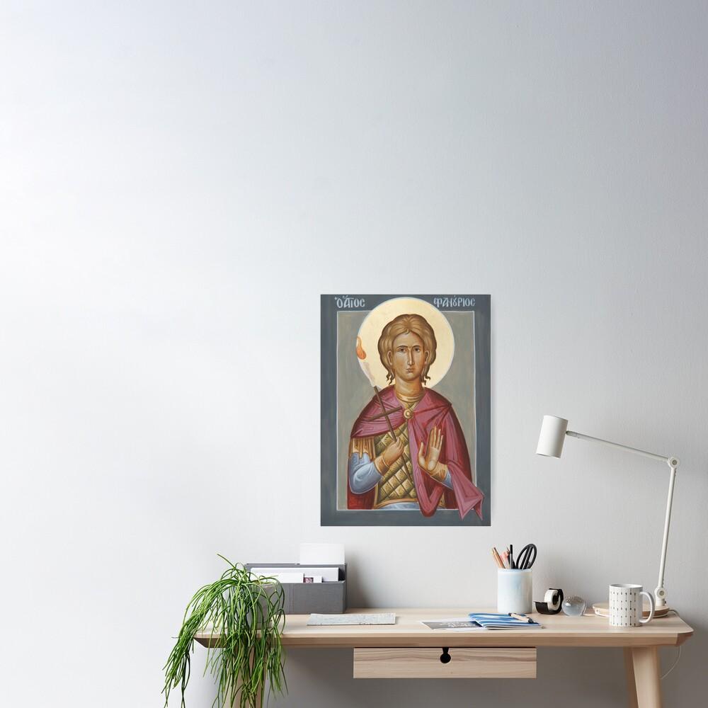 St Phanourios Poster