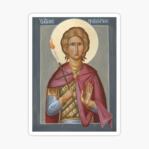 St Phanourios Sticker
