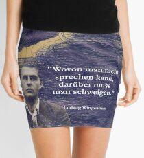 PEOPLE Ludwig Wittgenstein wovon man nicht sprechen kann darüber muss man schweigen Minirock