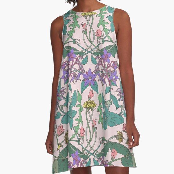 Dandelion II A-Line Dress