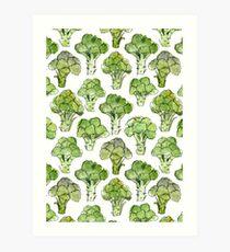 Broccoli - Formal Art Print
