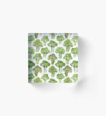 Broccoli - Formal Acrylic Block