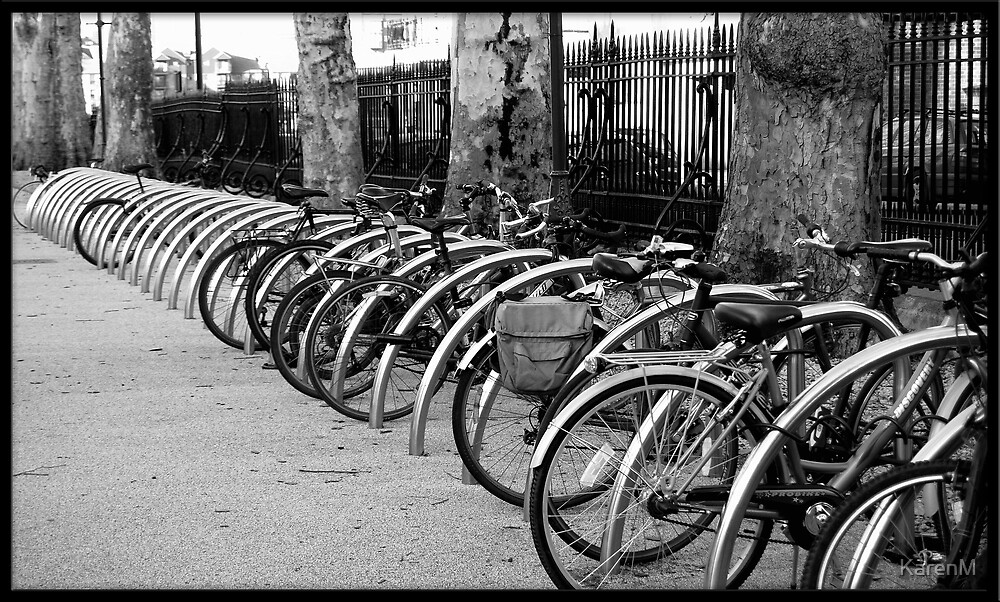 Bicycles by KarenM