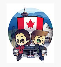 Winchesters in Vancouver II Photographic Print