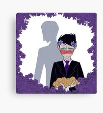 Flowers for the Dead Gotham Canvas Print