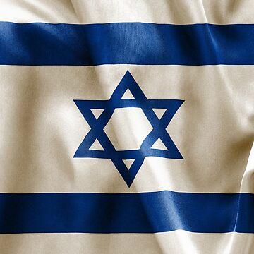 Israel Flag by MarkUK97