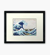 The Great Wave of Kanagawa Framed Print
