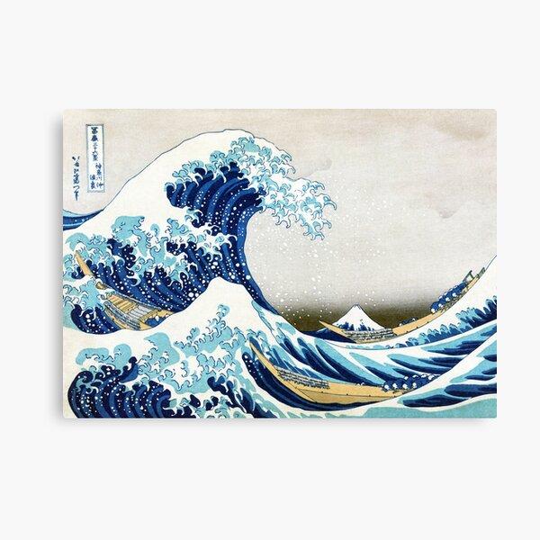 The Great Wave of Kanagawa Canvas Print