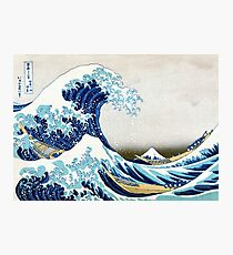 The Great Wave of Kanagawa Photographic Print