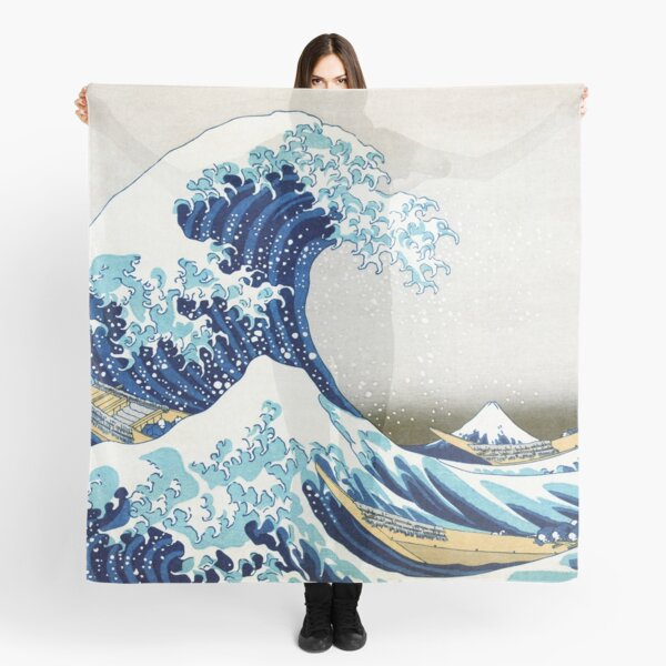 The Great Wave of Kanagawa Scarf