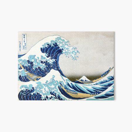 The Great Wave of Kanagawa Art Board Print