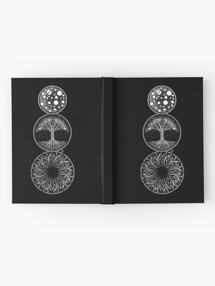 Alternate view of EP. MOON / LIFE / SUN Hardcover Journal