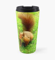 Red Squirrel Travel Mug