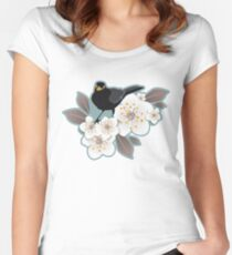 Waiting for the cherries I Women's Fitted Scoop T-Shirt