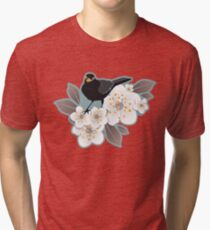 Waiting for the cherries I Tri-blend T-Shirt