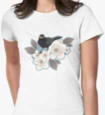 Waiting for the cherries I Women's Fitted T-Shirt