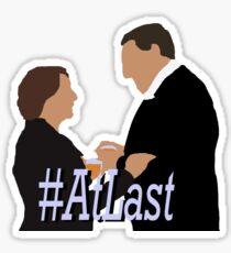 DA: Hughes & Carson #AtLast Sticker