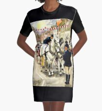Patience : waiting for the Beltane Queen Graphic T-Shirt Dress