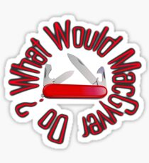 Swiss Army Knife Stickers Redbubble