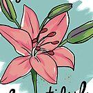 Lilie-Englisch von rauschsinnig