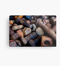 0420 Nuts & Bolts Metal Print