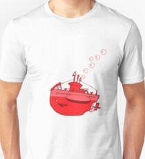 little red submarine Unisex T-Shirt