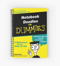 RedBubble For Dummies Spiral Notebook