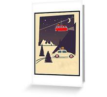 Xmas Beetle Greeting Card