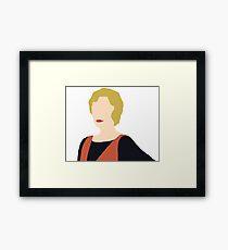 DA: Edith Framed Print