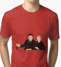 DA: Anna e Bates Tri-blend T-Shirt