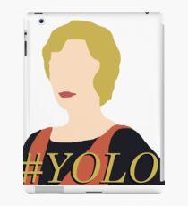 DA: Edith + #yolo iPad Case/Skin