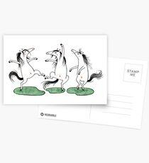 Pony-Tanz  Pony-Dance Postkarten