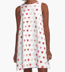 Hearts And Hearts A-Line Dress