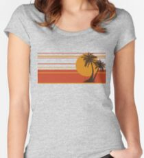 Color Ocean Women's Fitted Scoop T-Shirt