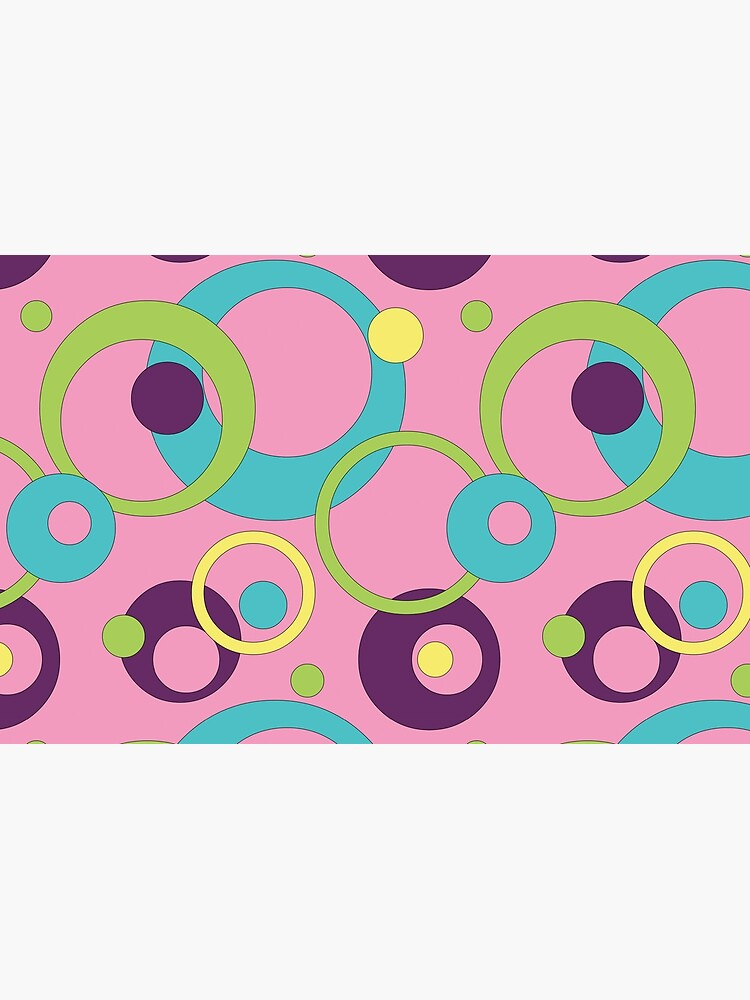 Funky Pink Circles by ValerieDesigns