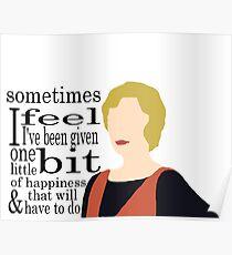 DA: Edith + quote Poster