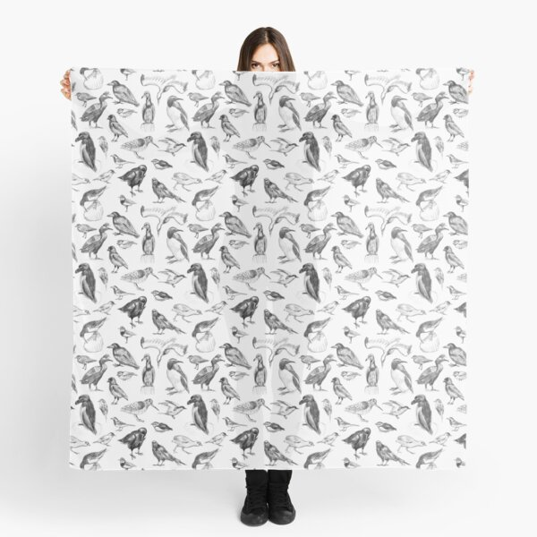 Manx Fauna - Birds Scarf